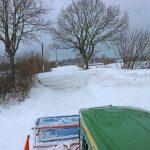 Fahrt mit dem Schneepflug 2018-03-02