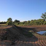 Ausgleichsfläche zum Baugebiet in Dollerup