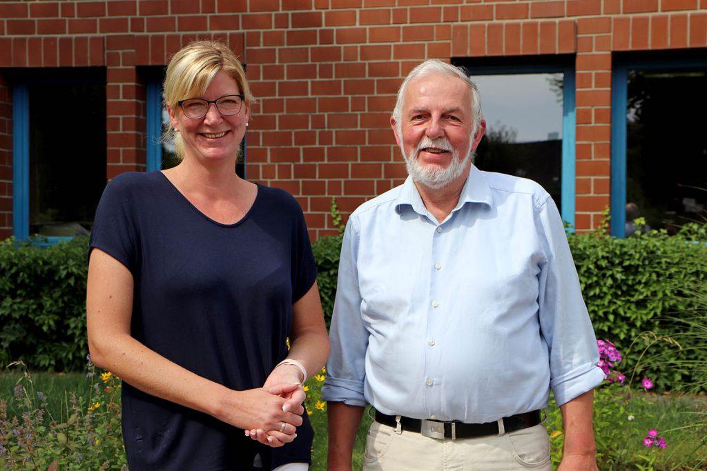 Alice Lausen-Kiesby und Peter-Wilhelm Jacobsen